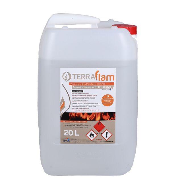Envío 24h 20L alcohol bioetanol chimenea estufa