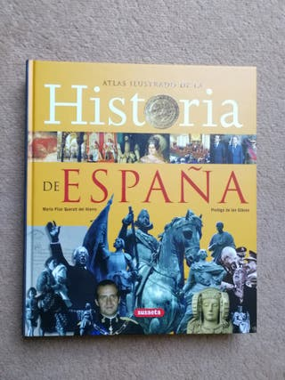 Libro Atlas ilustrado de la historia de España