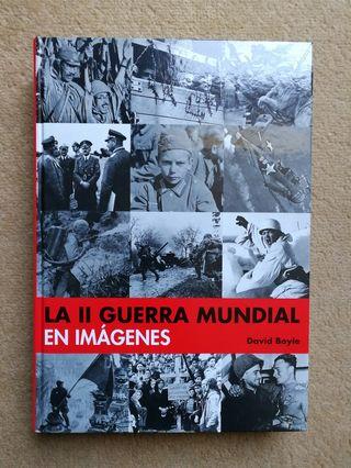 Libro La II guerra mundial en imágenes