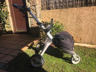 Silla coche, paseo y capazo Xplory de marca Stokke