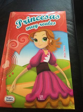 """libro """"princesas muy reales"""""""