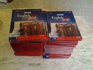 coleccion de libros y cd de ingles para aprender