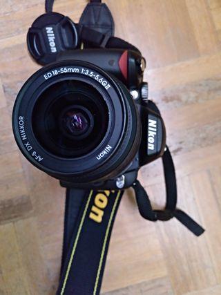 Cámara Nikon D60