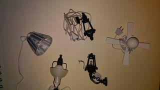 lamparas casa de muñecas