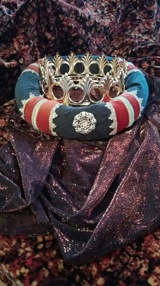 disfraz traje medieval