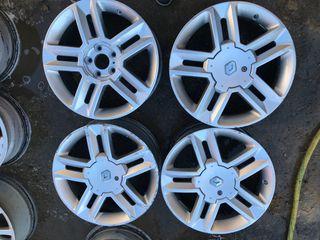 Llantas aluminio renault