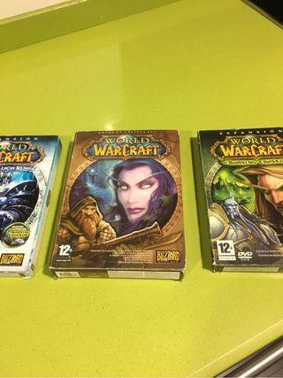 Juego Warcraft con dos expansiones pc
