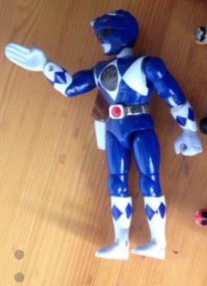 Power ranger azul