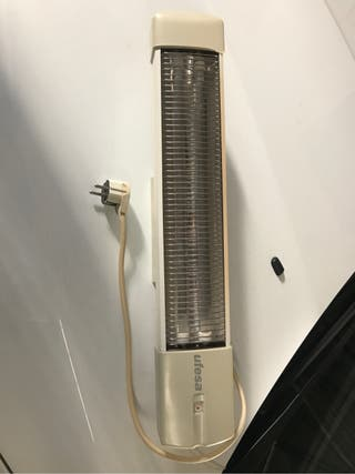 Calefactor pared baño