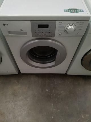 lavadora lg de 8 kilos
