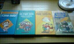 LIBROS DE MANOLITO GAFOTAS
