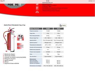 Extintores 6kgs y 9kgs POLIVALENTE ABC