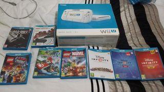 Wii u. 8 juegos