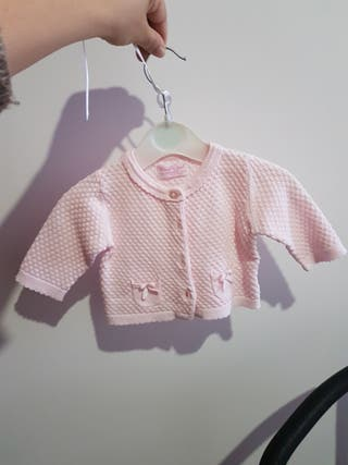 chaqueta punto bebe