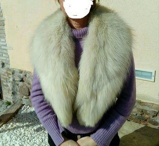 Cuello piel Lince