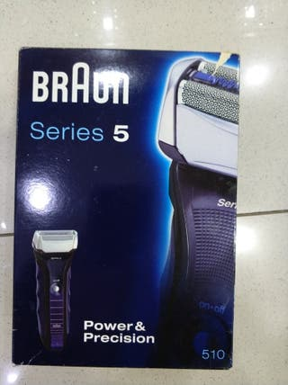 Braun serie 5.modelo 510.esta nuevo.