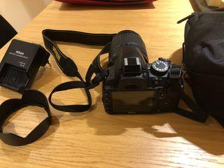 Cámara réflex Nikon D3100 18-105