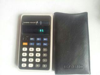 calculadora casio memory 8f antigua funcionando