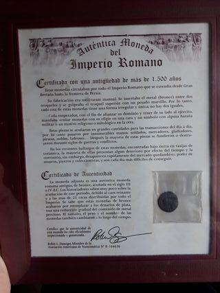 Moneda Romana Bronce 1500 años