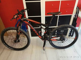Bicicleta Scott doble suspension