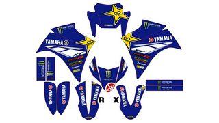 kit pegatinas yamaha xt r x 2004 / 2018