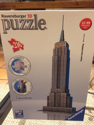 Puzzle 3D Ravesburger Empire