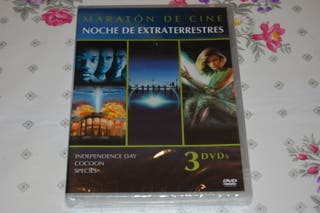 Independence Day, Cocoon y Species. Pack 3x1