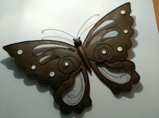 Mariposa decoración pared