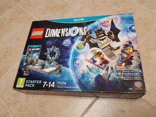 OFERTON. Lego Dimensions Starter Pack WiiU NUEVO!!