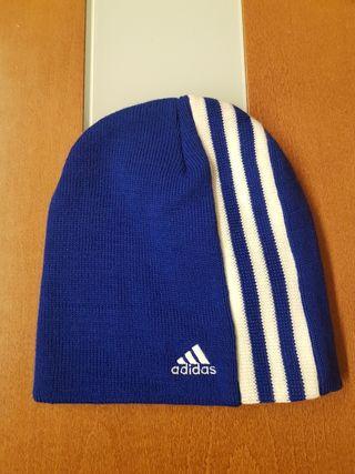 Gorro Adidas azul Original