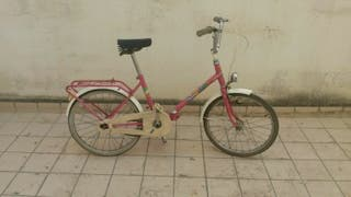 Bicicleta señora BH Happy de los 70.