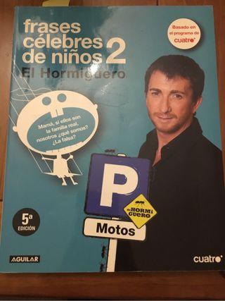 """Libro humorístico """"El Hormiguero"""""""