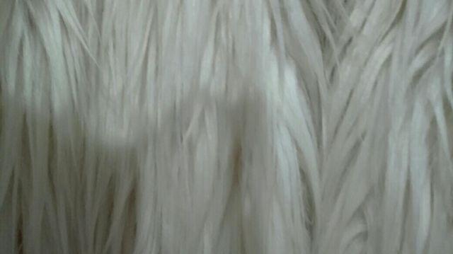 Chaquetón de pelo largo