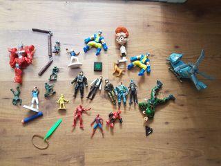 juguetes varios marvel dc