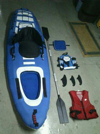 kayack hinchable