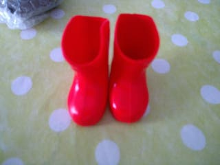 Botas Rojas para Nancy