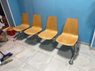 Bancada 4 asientos