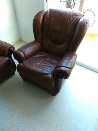 Sofá de 3 plazas + sillón. (3+1)