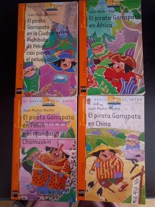 Libros El pirata Garrapata