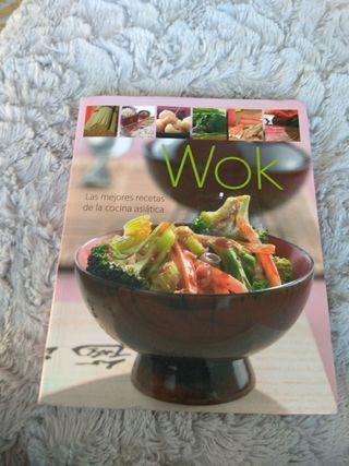 libro cocina asiática con muchas recetas