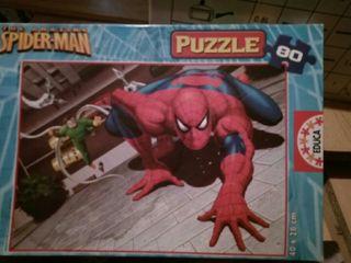 puzzle de Spiderman de 80 piezas