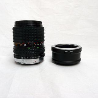 Objetivo adaptado a Canon o Sony Nex 35-70mm