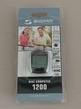Cuentakilómetros para bici Sigma 1200