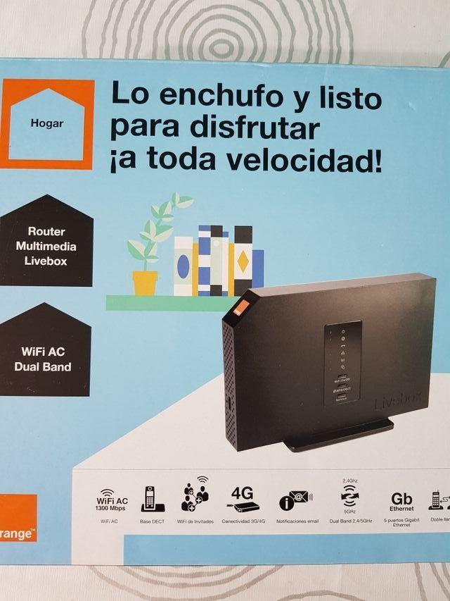 Router wi-fi sin estrenar
