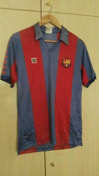 camiseta fc barcelona segunda mano