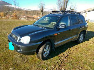 hyundai santa fe 2005 todoterreno4x4,diesel,nuevo