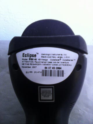Lector codigo de barras láser(Eclipse MS 5145.PS/2