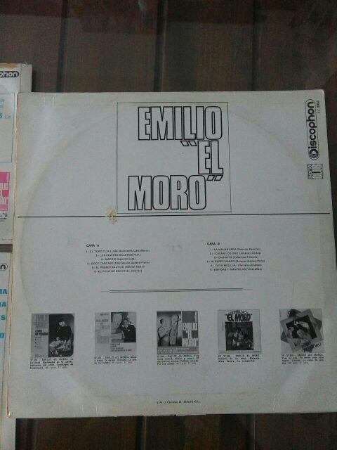 DISCO VINILO EMILIO EL MORO