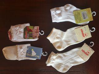 calcetín primavera -verano infantil