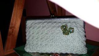 Bolso de fiesta en crochet